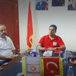 YDN management visited Turkish Red Crescent